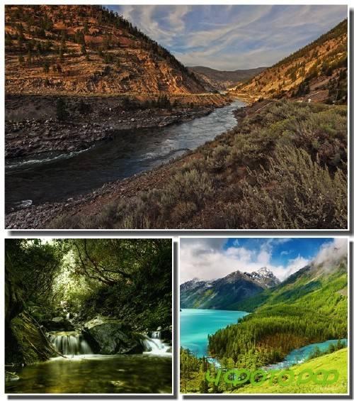 67 Удивительных пейзажей природы (часть 39)