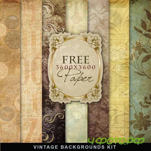 Textures - Old Vintage Backgrounds #49