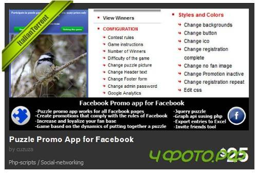 CodeCanyon - Puzzle Promo App for Facebook