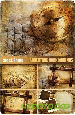 UHQ Stock Photo - Adventure Backgrounds