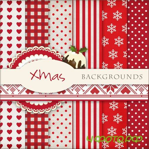 Textures - Christmas Backgrounds #10