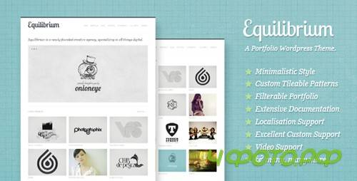 ThemeForest - Equilibrium: Clean and Modern WP Portfolio Theme v1.2