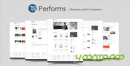 ThemeForest - Performs - Business and Ecommerce HTML Template - Rip