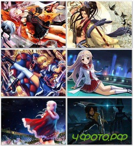 скачать мужские картинки аниме: