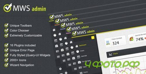 ThemeForest - MWS Admin - Full Featured Admin Template - Rip