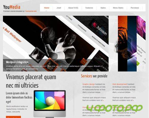 YouJoomla - Youmedia For Joomla 2.5 - Web developer portfolio