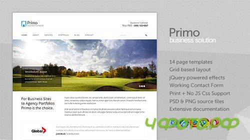 Mojo-Themes - Primo – Business / Corporate xHTML Template - RIP