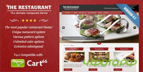 ThemeForest - The Restaurant v4.0