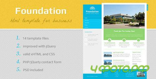 ThemeForest - Foundation - HTML Template - Rip
