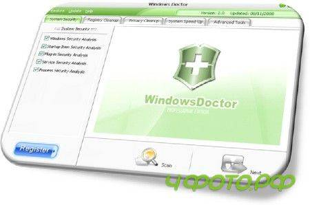 Windows Doctor 2.7.2.0 portable by moRaLIst (2012/ENG)