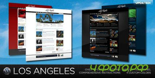 ThemeForest - Los Angeles - A Premium Wordpress Theme v1.3