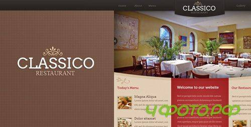 ThemeForest - Classico - HTML Restaurant Template - RIP