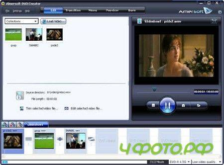 Aimersoft DVD Creator 2.6.2.18 Portable (2012/ENG)