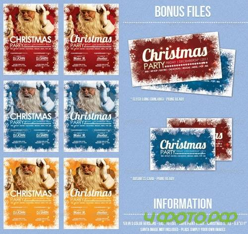 GraphicRiver - Christmas - Flyer Template - 553296