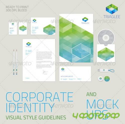 GraphicRiver - Corporate Identity Guidelines and Mock-ups 6515875