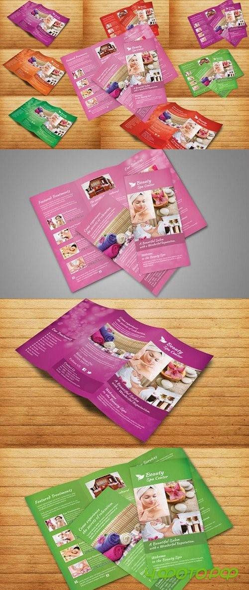 Beauty Spa Tri-Fold Brochure - 214272