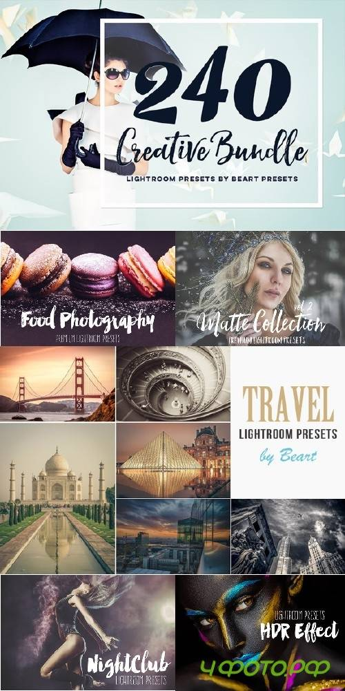 Lightroom Presets Creative Bundle - 703176