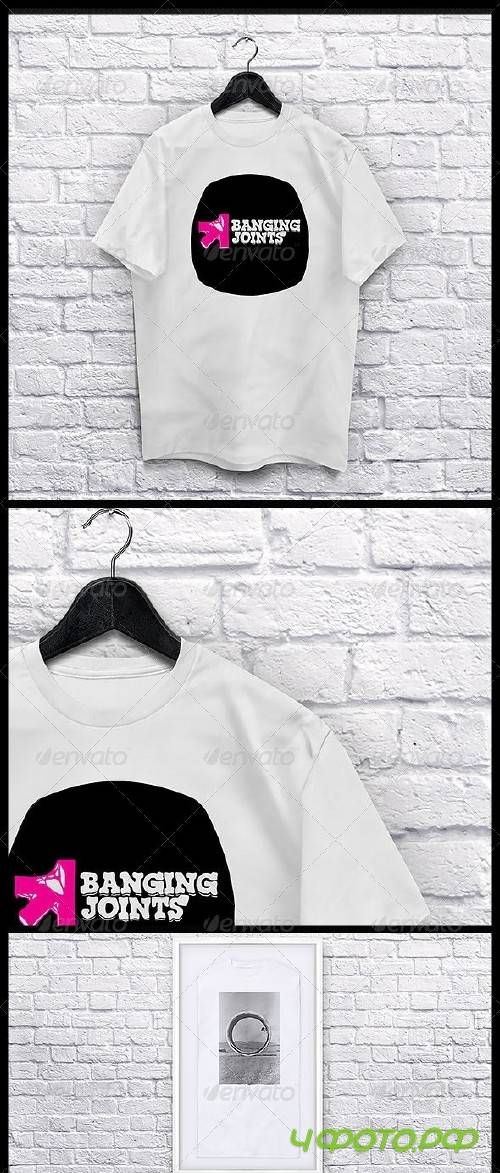 T shirt Collection Mockup - 8187219