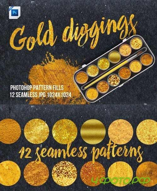 Gold Diggings Fill Patterns - 806512