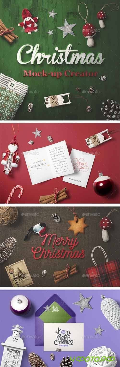 Christmas Mock-Up Creator - 13664788