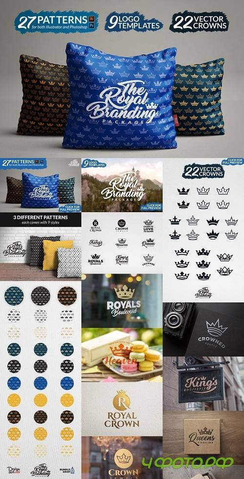 The Royal Branding Package 1077526