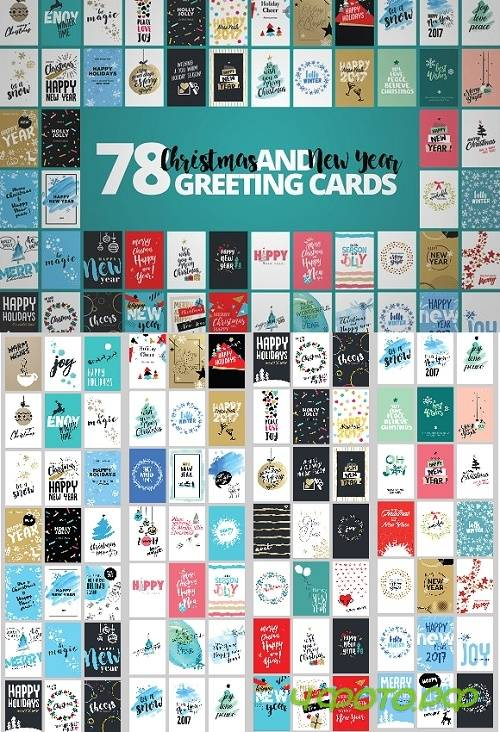 Christmas Cards Mega Set - 1092774