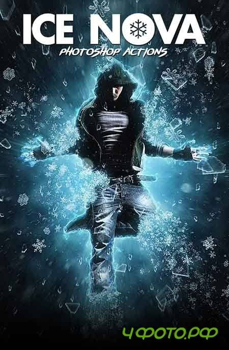 Ice Nova - Photoshop Action - 19165899