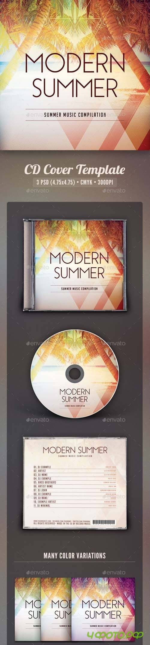 Modern Summer CD Cover Artwork - 16455379