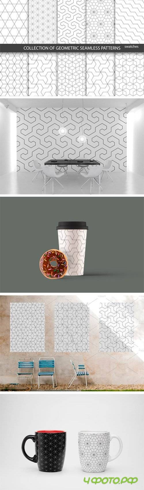 Ornamental Geometric Patterns - 1340324