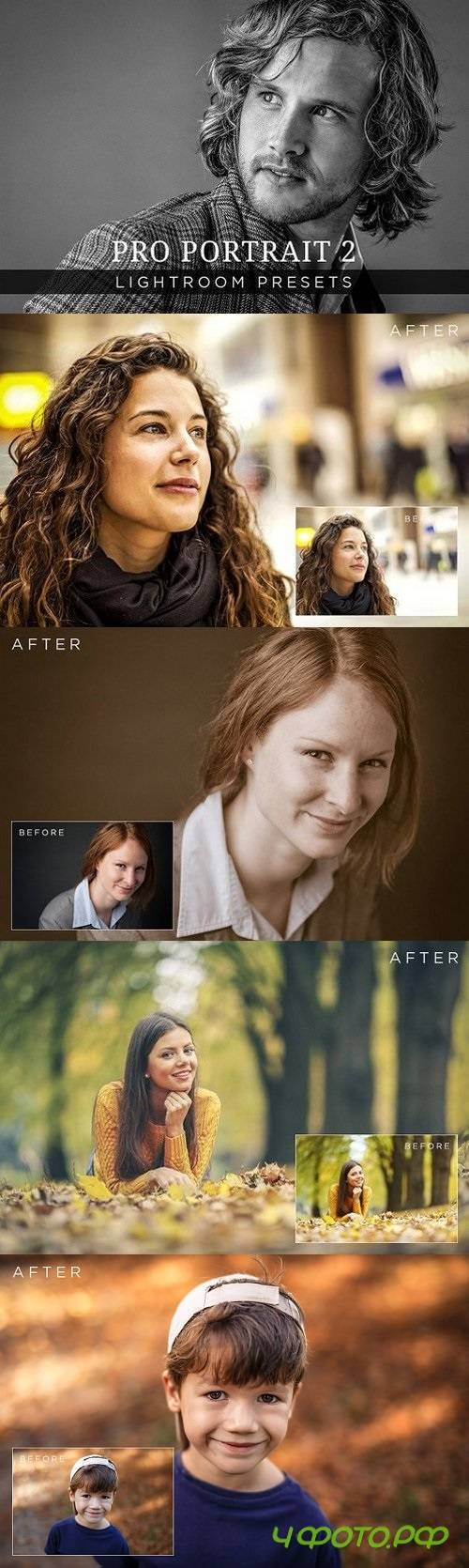Pro Portrait Lightroom Presets Vol 2 200120
