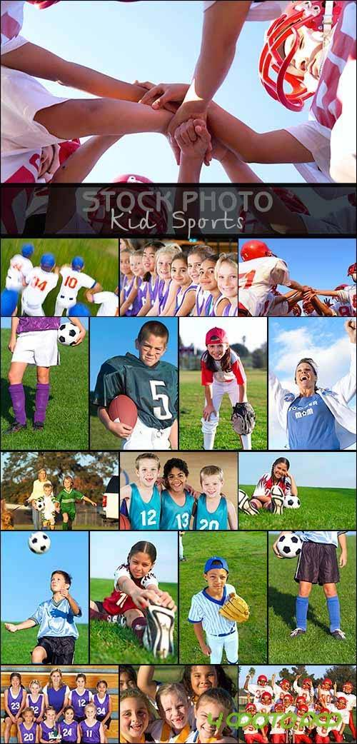 Stock Photo -  Kid Sports