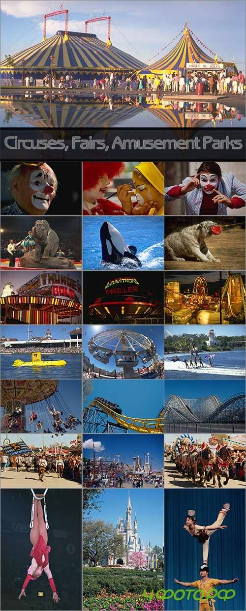 Circuses, Fairs & Amusement Parks