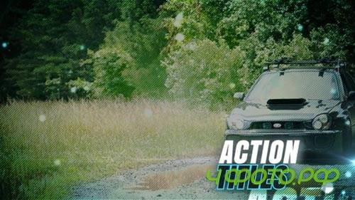 After Effects template -  Action Titles