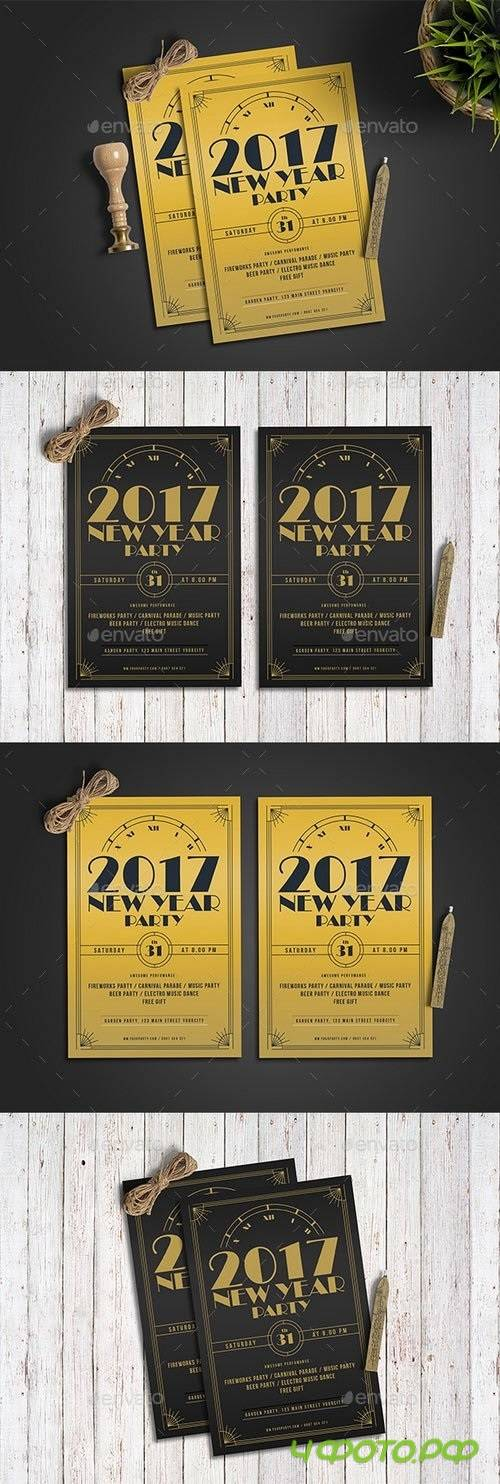 Classic Golden New Year 19149730