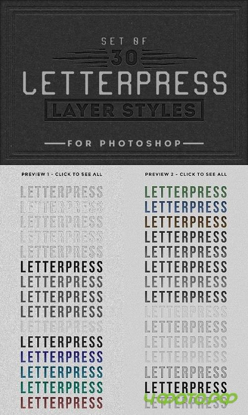 Letterpress Layer Styles Photoshop 1513829