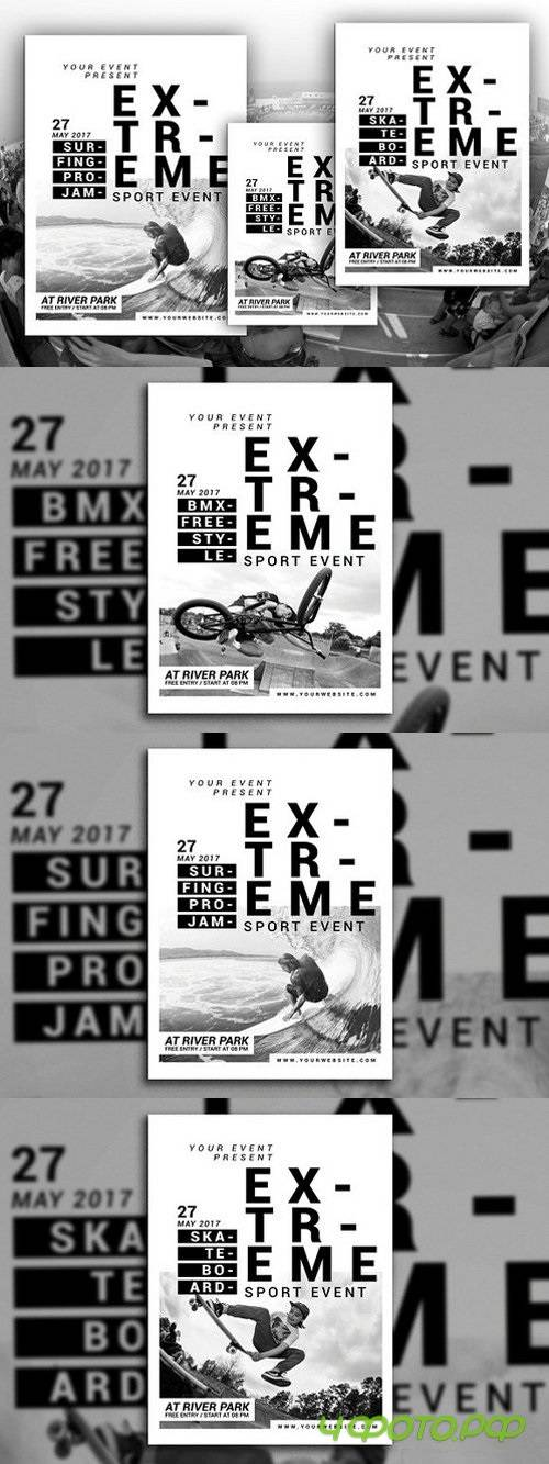 Extreme Sport Event Flyer 1503692