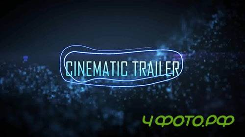 After Effects template - Cinematic Trailer v2