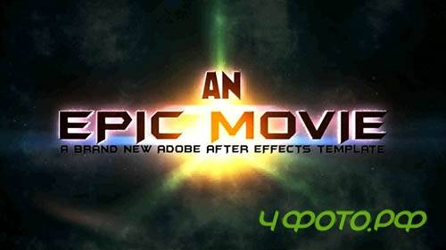After Effects template - An Epic Movie