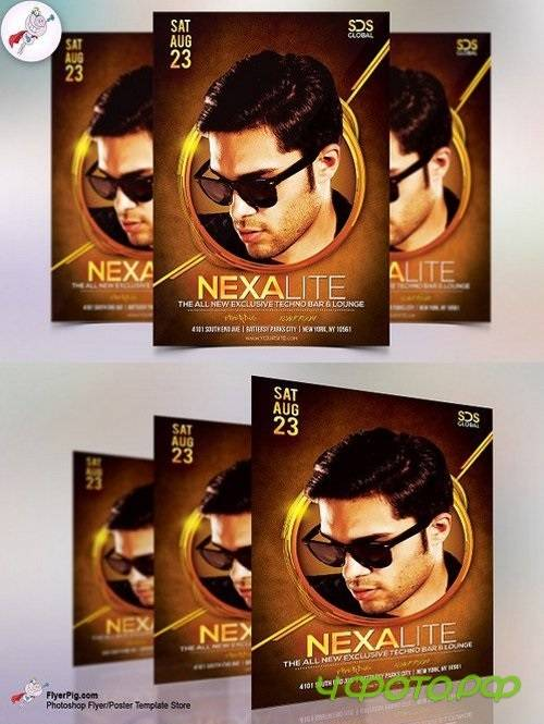 NexaLite Club Flyer Template 1583770
