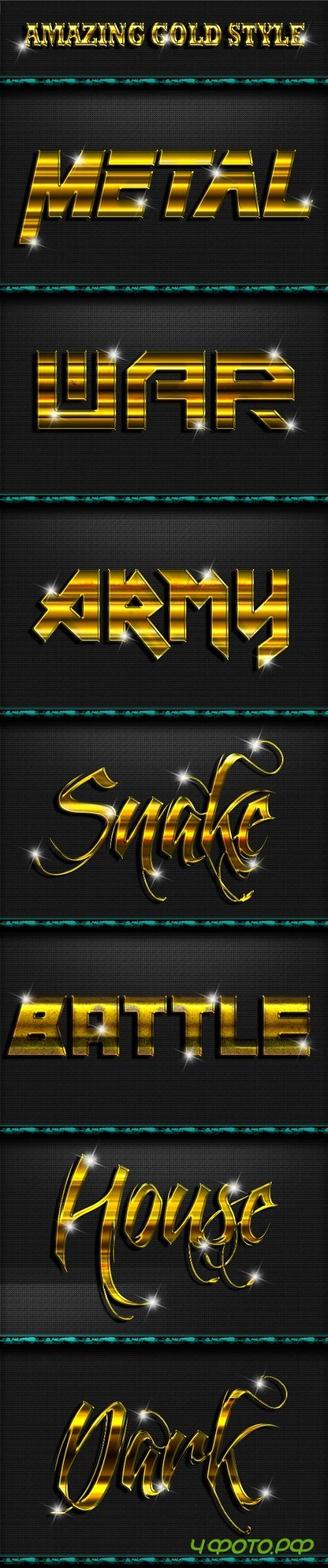 Gold Style Text Effect V.2 20244817