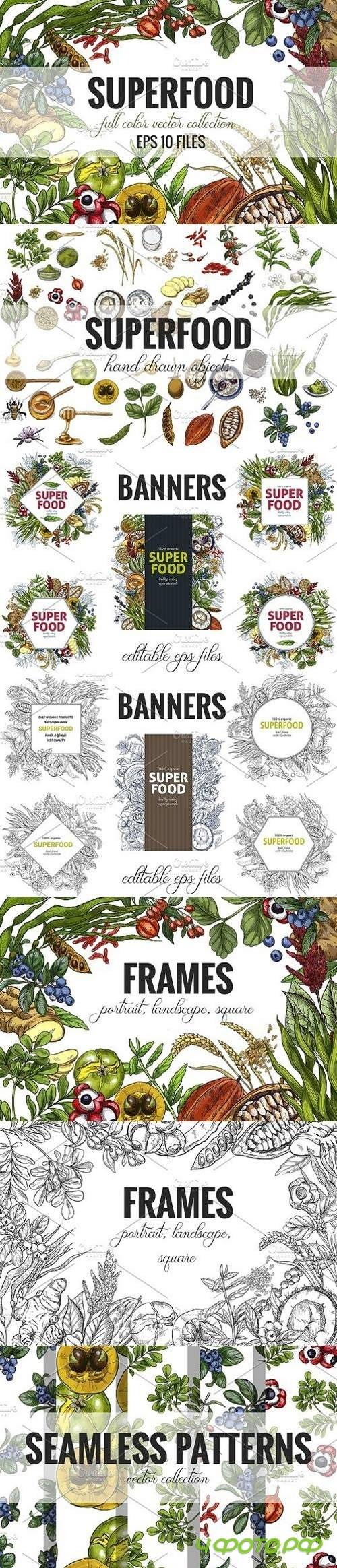 Superfood, vector collection 1730152