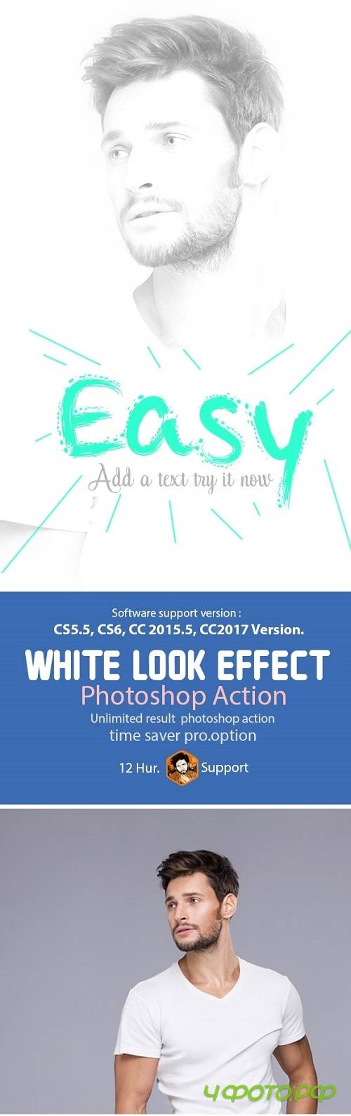 White Look Effect 20485650