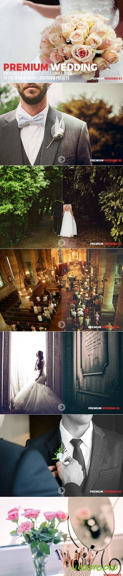 10 Premium Wedding Lightroom Presets 20599287