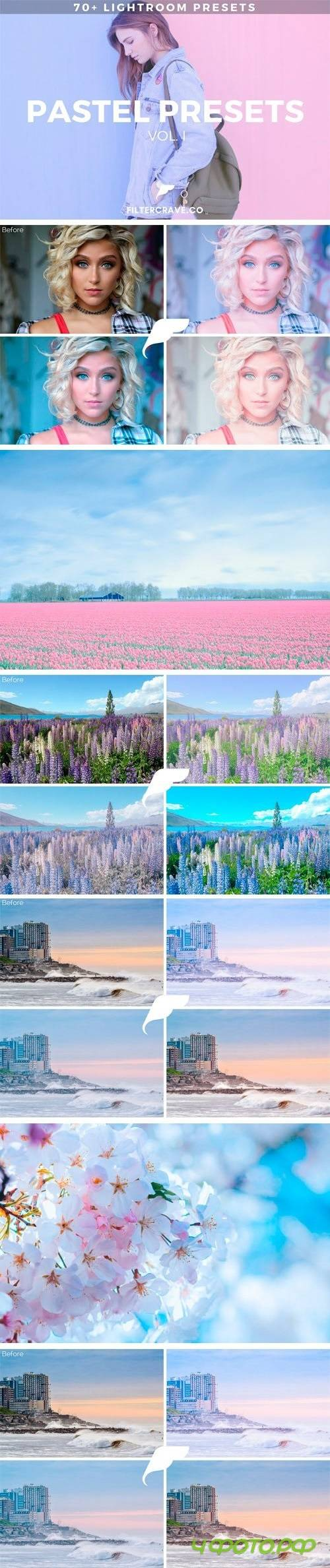 70+ Pastel Lightroom Presets Vol. I 1803748