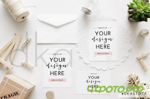 Wedding Invitation Mockup 2 1848428