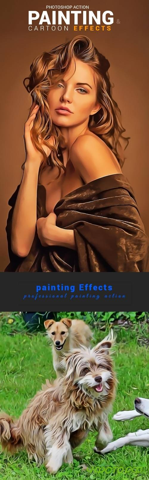 Painting & Cartoon Effects 20865260