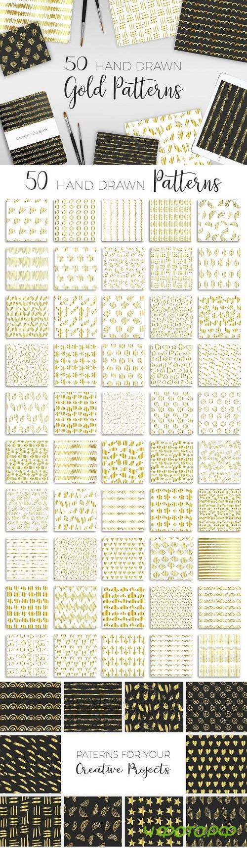 Christmas Golden Patterns - 1723375