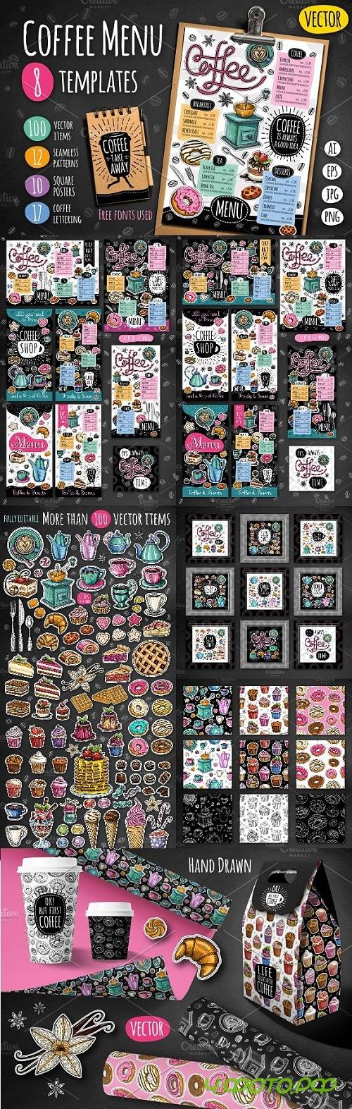 Big Coffee & Sweets Collection - 2141553