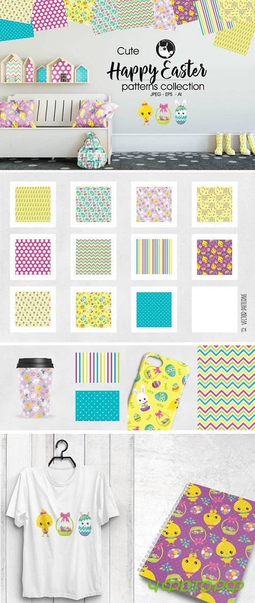 HAPPY EASTER Pattern collection 2030093