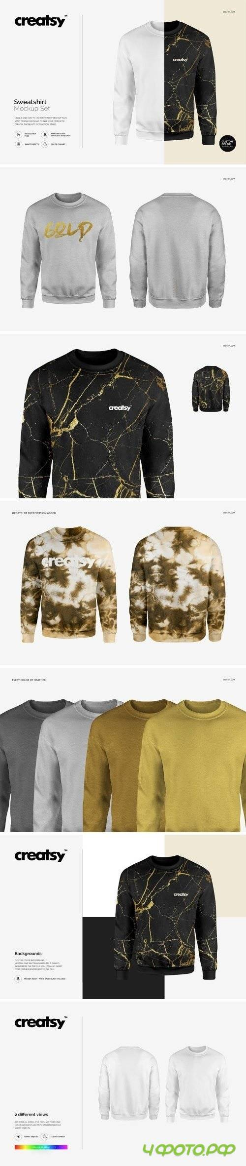Sweatshirt Mockup Set 1600785